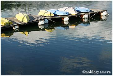 ボートの日干し