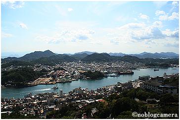 千光寺山からの眺望