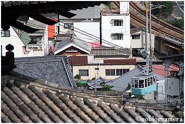 天寧寺三重塔から見る風景