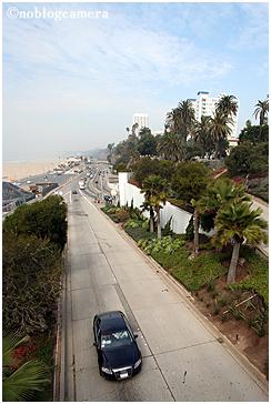 サンタモニカビーチ方面