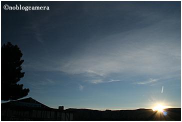 Red Rockから昇る太陽