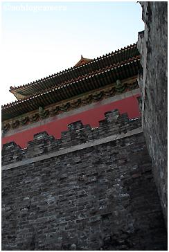 中国古代建築の壁