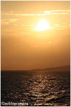 玄界灘の夕暮れ